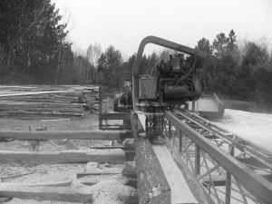 Gas Saw Mill